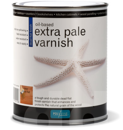Polyvine Extra Pale Varnish Dead Flat