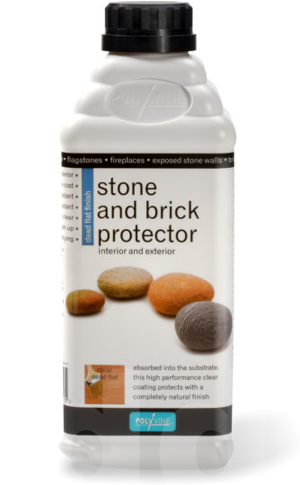 Polyvine Stone and Brick Protector - Dead Flat