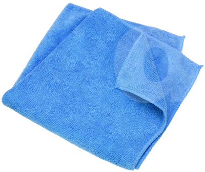 Premium Blue Microfibre Decorators Cloth