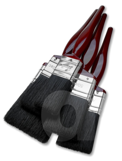 Fit For The Job - Paint Brush Set 2x1.5in. 2x2in. 1x3in