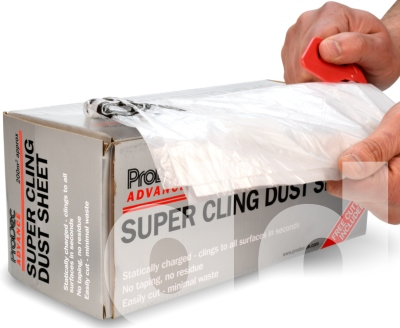 Prodec Super Cling Plastic Sheeting