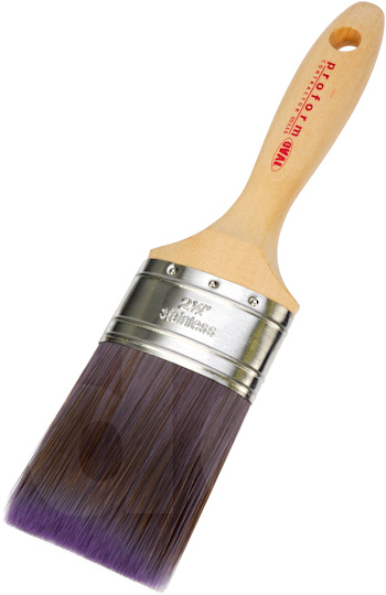 Proform Contractor Oval Flat Paint Brush Beavertail COS