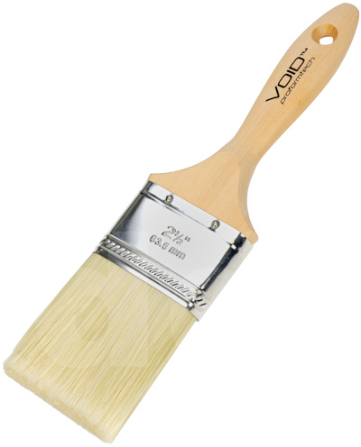 Proform Void Straight Paint Brush Beavertail. EBS