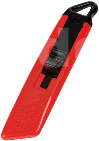 Self Retracting Safety Knife - Red/Black