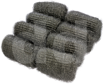 Steel Wool Pads (Pack of 8 pads)