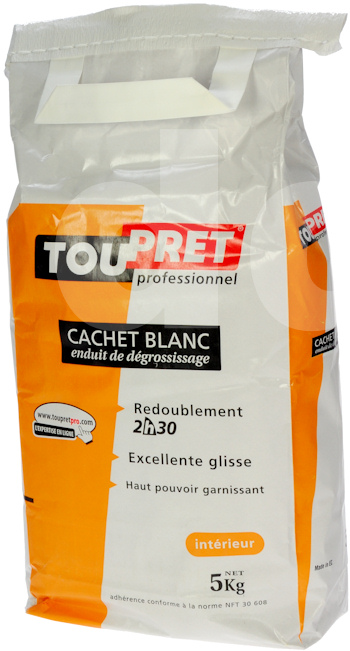 Toupret Cachet Blanc - Decorators Skim Coat