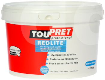 Toupret Redlite - Fast Drying Lightweight Filler