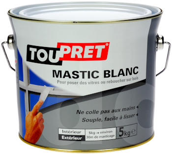 Toupret White Glazing Putty