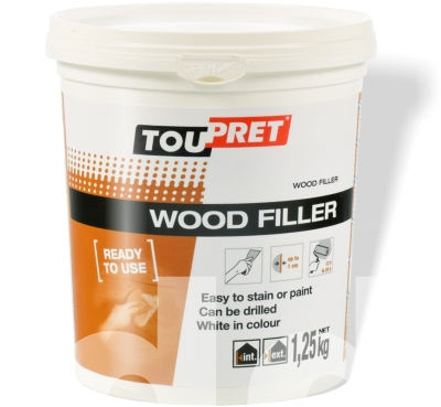 Toupret Wood Filler - Readymixed