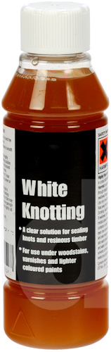 White Shellac Knotting Solution (bleached)