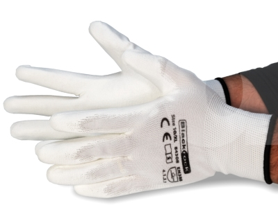 Blackrock White Painters Grip Glove