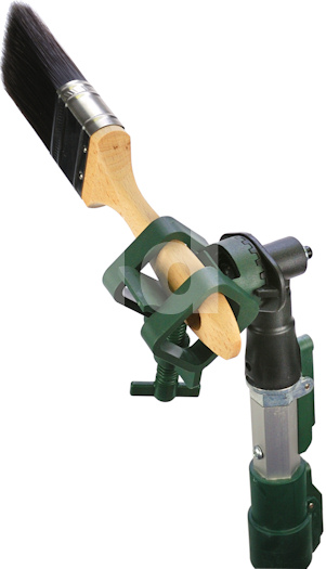 Wooster Lock-Jaw Extension Pole Paint Brush and Tool Holder / Adaptor