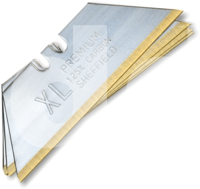 Retractable XL Gold Heavy Duty 2 Notch Blade TiN Coated