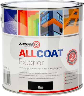 Zinsser allcoat exterior satin all surface paint - Zinsser exterior paint pict ...
