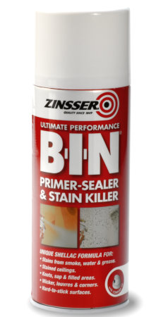 Zinsser BIN Aerosol - Primer Sealer and Stain Killer