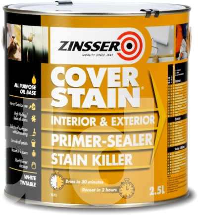 Zinsser Cover Stain - Primer Sealer and Stain Killer